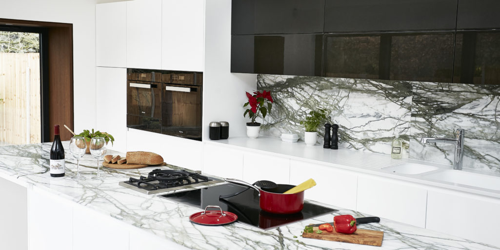 Calacatta verde kitchen