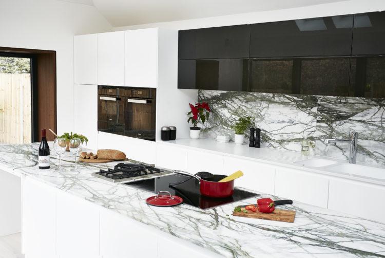 Calacatta verde kitchen