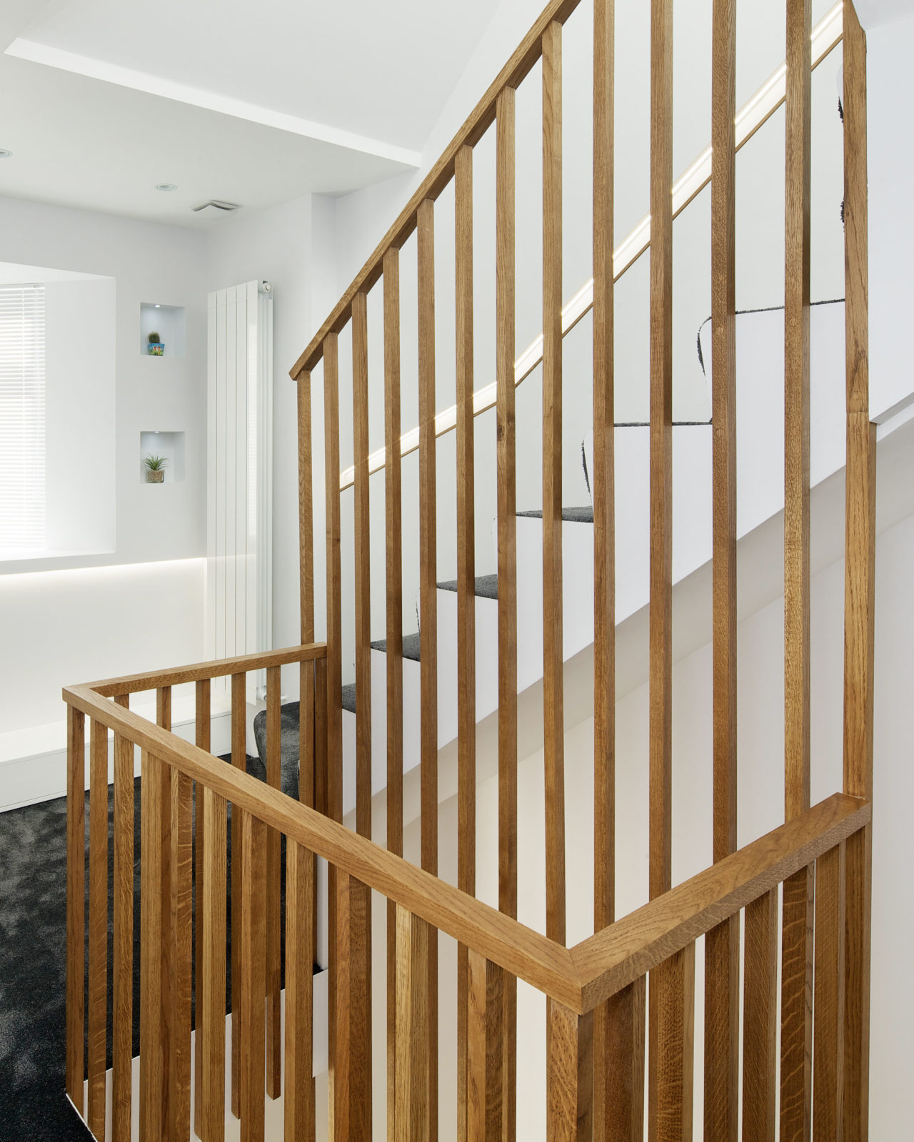 oak battens balustrade