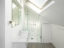 Corian bathroom in loft space