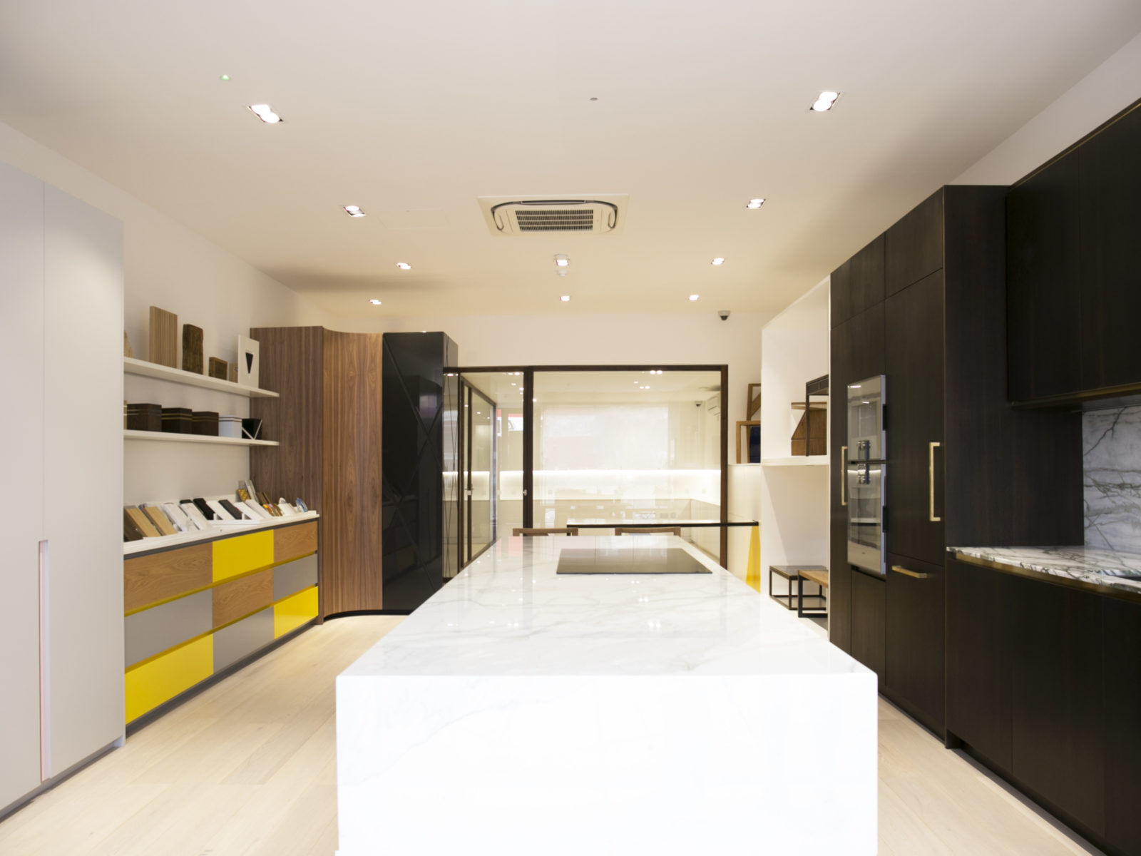 St James Interiors showroom