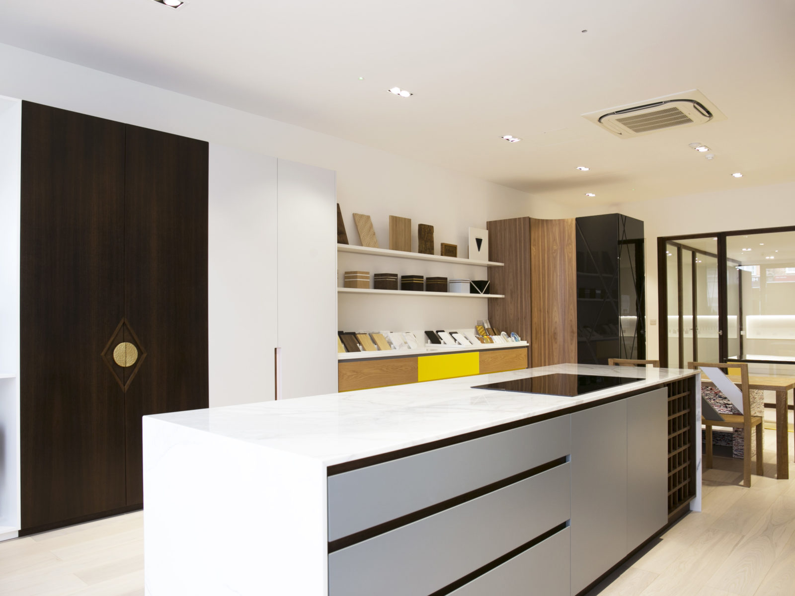 St James Interiors showroom joinery