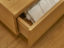 Handlleess oak vanity unit drawer