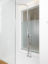 Seamless glacier white corian shower