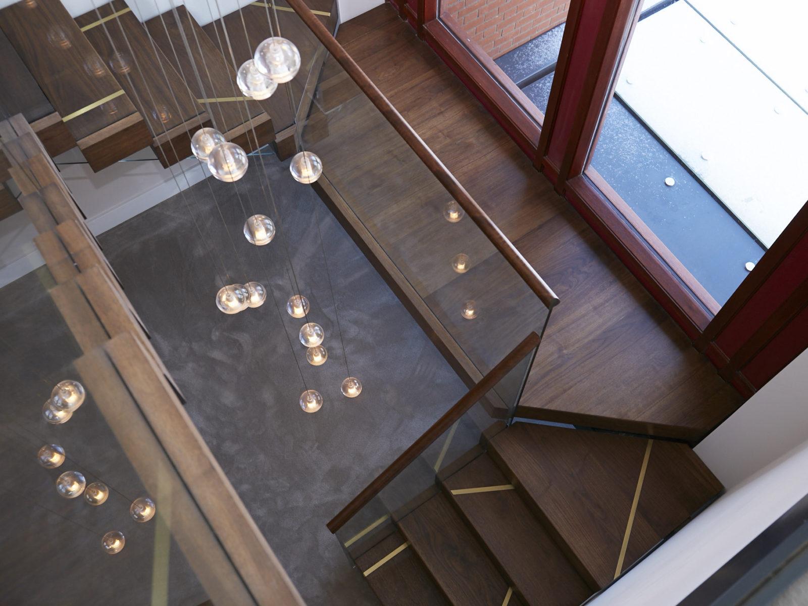 Walnut staudy staircase